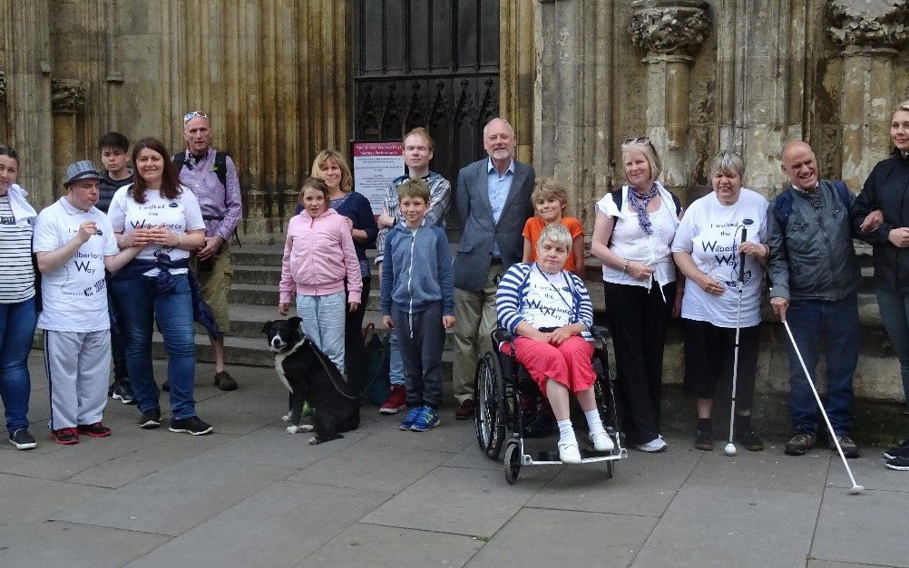 We walked the Wilberforce Way and raised £6000