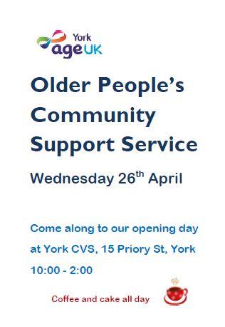 Older People's Community Support Service - York CVS