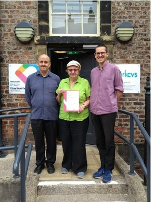 Older Citizens Advocacy York Achieves Prestigious Award