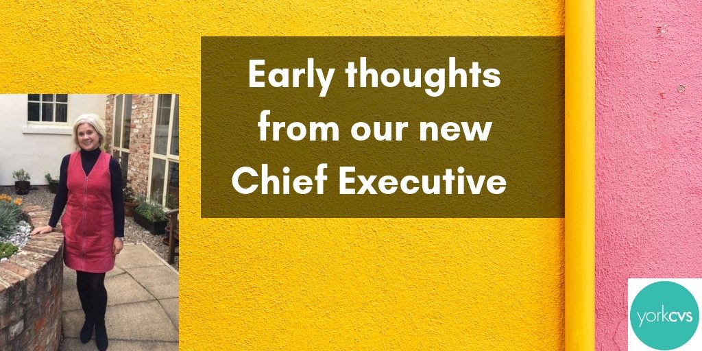 First month thoughts from our new Chief Executive Alison Semmence