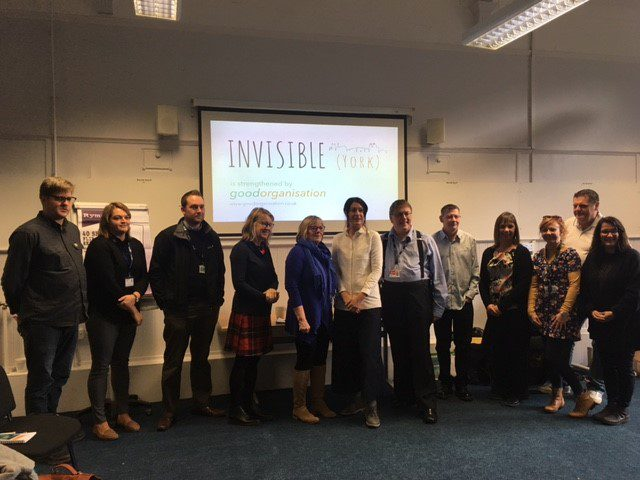 Invisible York are looking for volunteer mentors