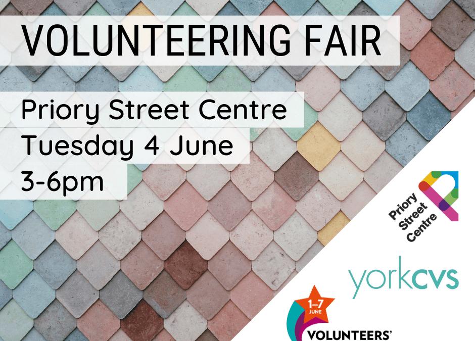 Volunteering Fair – 4 June