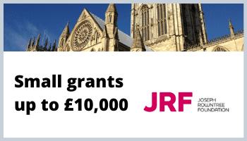 JRF York Committee Community Grants – Deadline 4 December