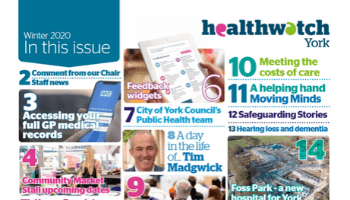 NEW: Healthwatch York Winter Magazine