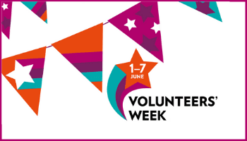 Volunteers' Week (1-7 June)