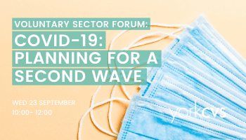 Voluntary Sector Forum – COVID-19: Planning for a Second Wave