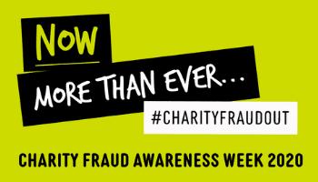 Be Fraud Aware – Charity Fraud Awareness Week (19-23 Oct)