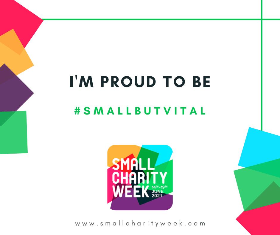 I'm proud to be #SmallButVital
