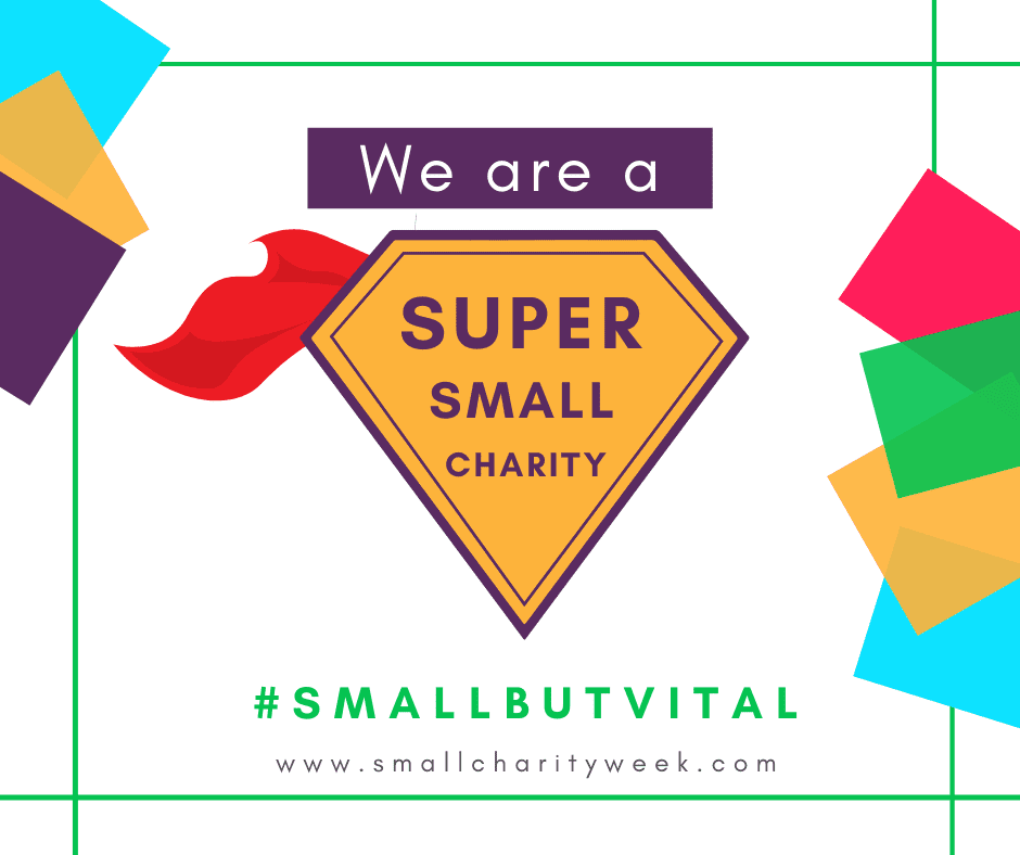 We are a super small charity