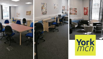 You are invited to use the new York MCN co-location space on Priory Street