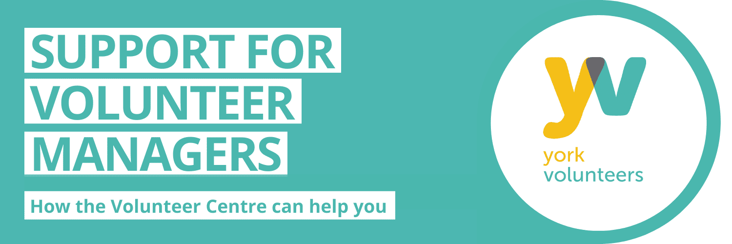 Support for Volunteer Managers Banner
